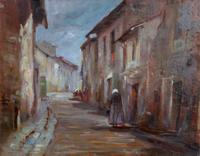 Quadro di Arturo Giulio Faini  la strada